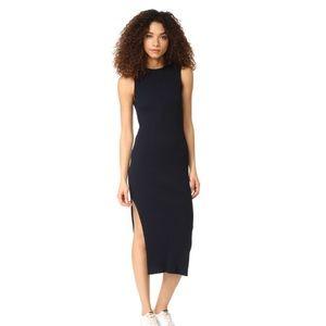 FRAME ribbed dress
